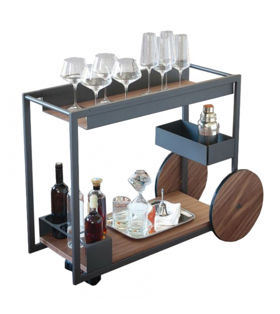 Brandy Cattelan Italia Servierwagen Bar