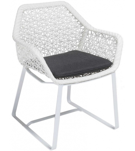 Maia Kettal Slide Base Dining Armchair