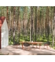 Maia Kettal Slide Base Dining Armchair