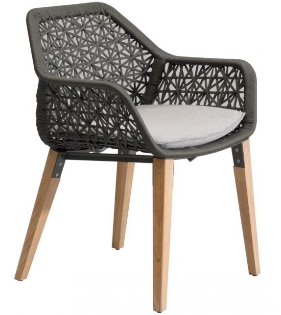 Chaise Lounge Kettal: Maia Kettal Poltroncina Pranzo