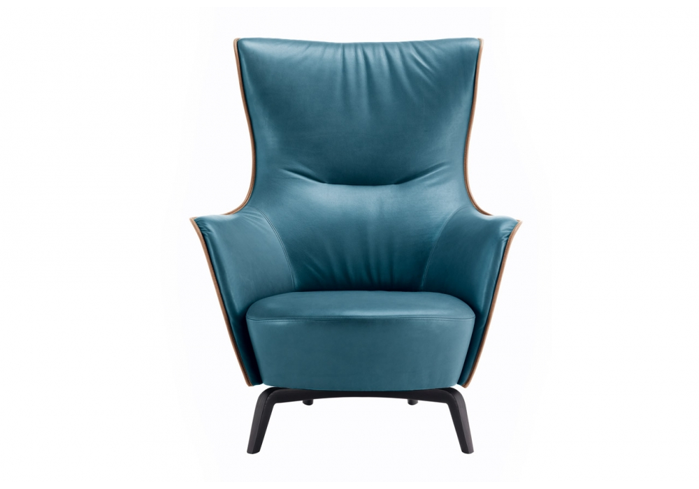 Mamy blue armchair poltrona frau milia shop for Chaise longue poltrona