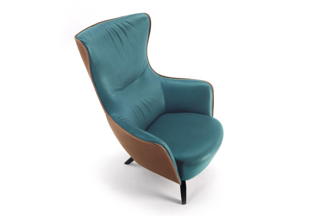 Mamy Blue Armchair Poltrona Frau Milia Shop
