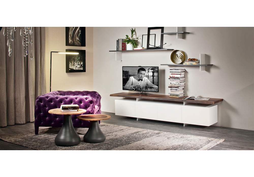 seneca cattelan italia tv stand milia shop. Black Bedroom Furniture Sets. Home Design Ideas
