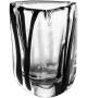 Venini Triangolo Black Belt Vase