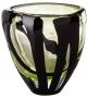 Venini Black Belt Ovale Vase