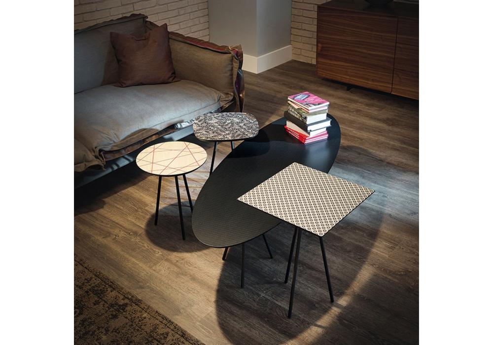 kaos cattelan italia mesita milia shop. Black Bedroom Furniture Sets. Home Design Ideas