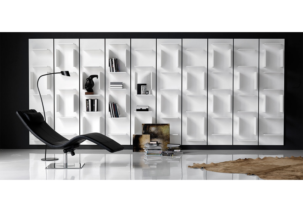 cattelan italia fifty bookshelf milia shop. Black Bedroom Furniture Sets. Home Design Ideas