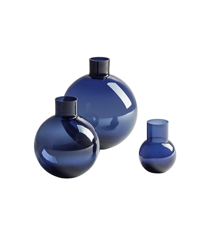 Gli Oggetti - Blue Pallo Vase Poltrona Frau