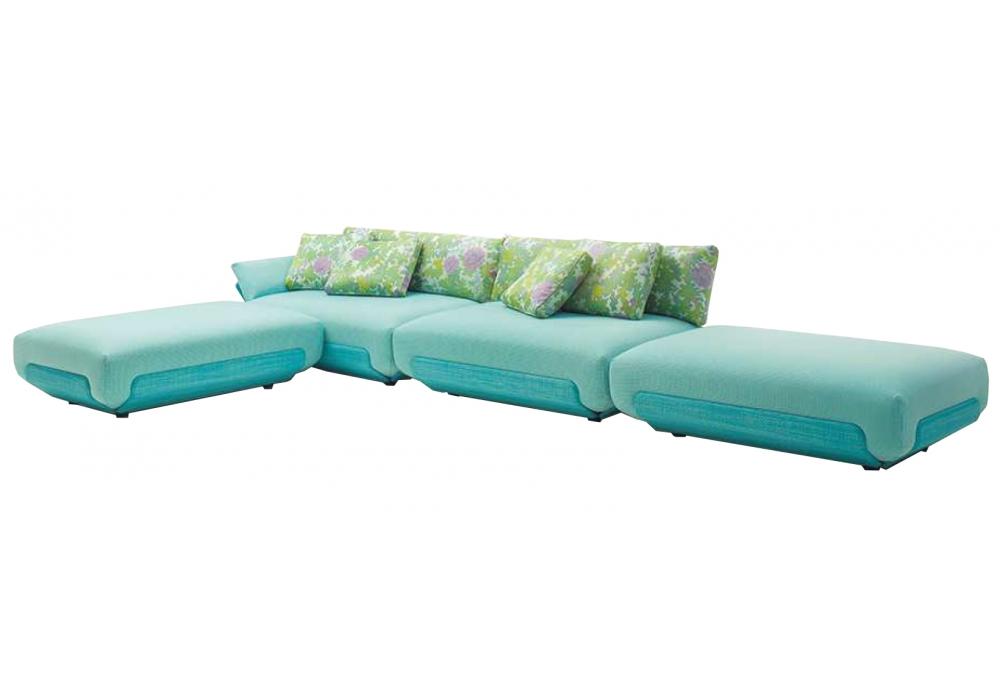 oasi paola lenti canap modulaire milia shop. Black Bedroom Furniture Sets. Home Design Ideas