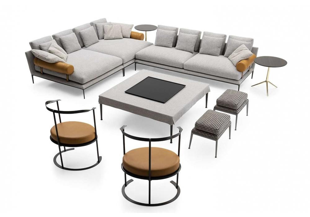 atoll b b italia canap milia shop. Black Bedroom Furniture Sets. Home Design Ideas