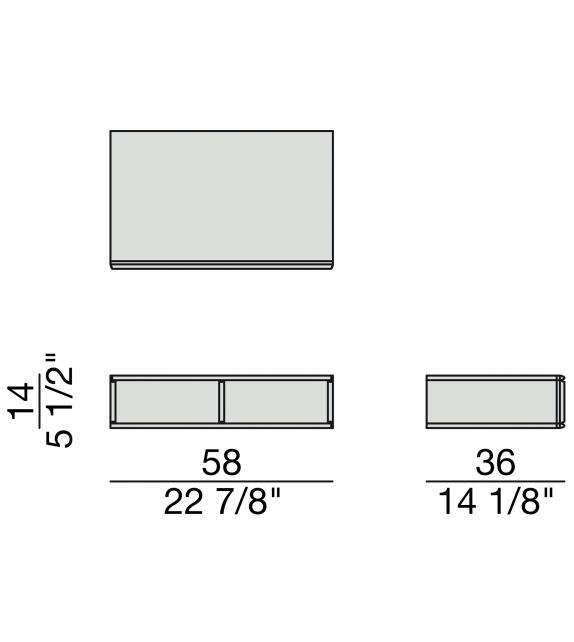 Bayus 5 Porada Wall Cabinet