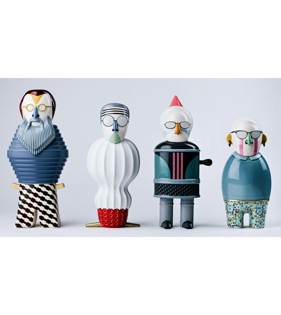 Most Illustrious Riccardo Bosa Skulptur