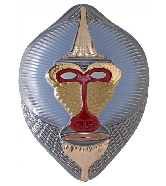 Primates Masks Mandrillus Sculpture Bosa