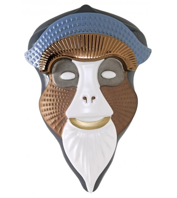 Primates Masks Brazza Bosa Scultura