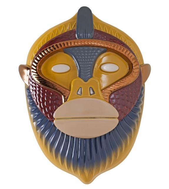 Primates Masks Kandti Bosa Scultura