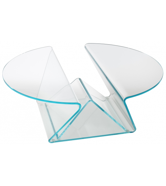 Plissé Glas Italia Table Basse