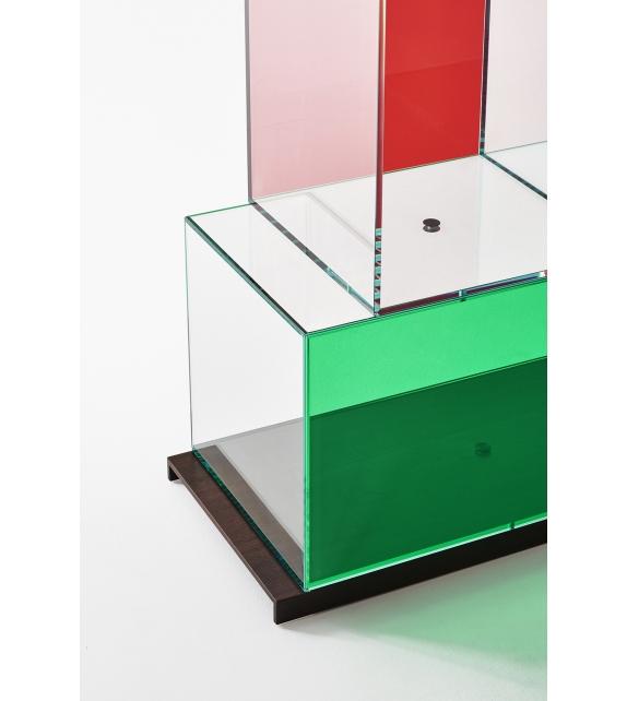 Quantum Glas Italia Bücherregal