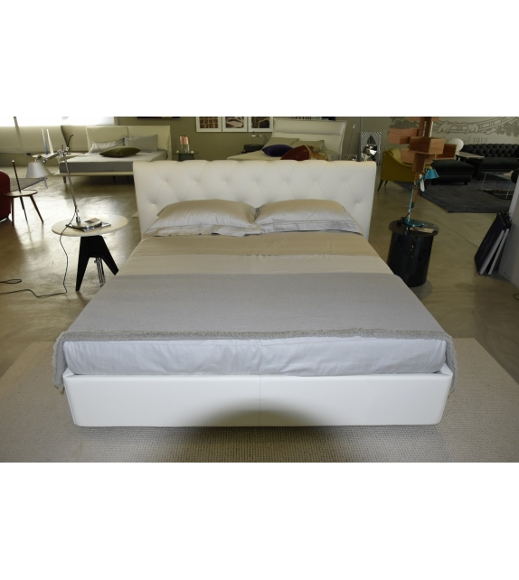 Bluemoon Bed With Storage Unit Poltrona Frau
