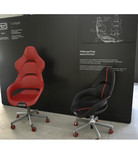 Ex Display - Cockpit Executive Armchair Poltrona Frau
