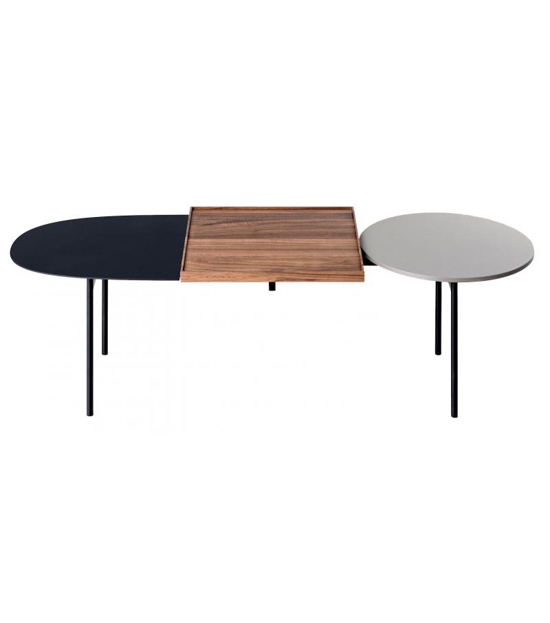 constellations kristalia table basse avec 3 plateaux. Black Bedroom Furniture Sets. Home Design Ideas