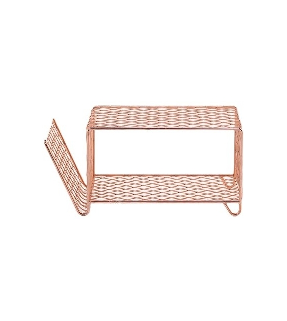 Cross 44 Gervasoni Magazine Rack - Side Table