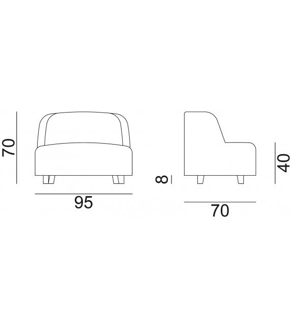 InOut 911 Gervasoni Armchair