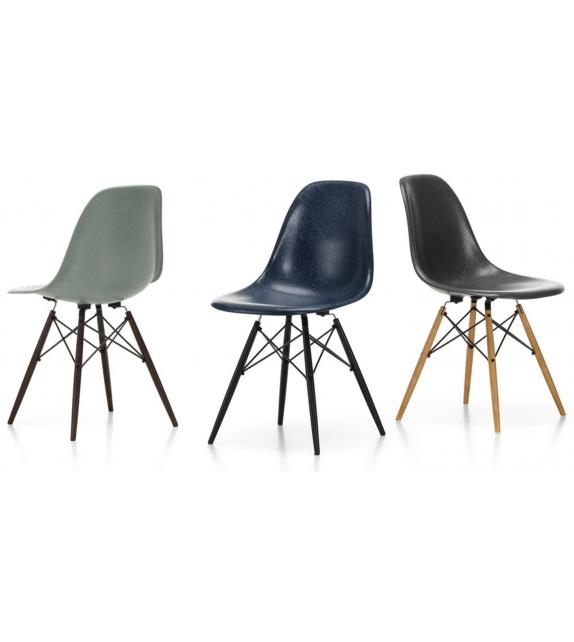 Eames Fiberglass Chair DSX Vitra Chaise