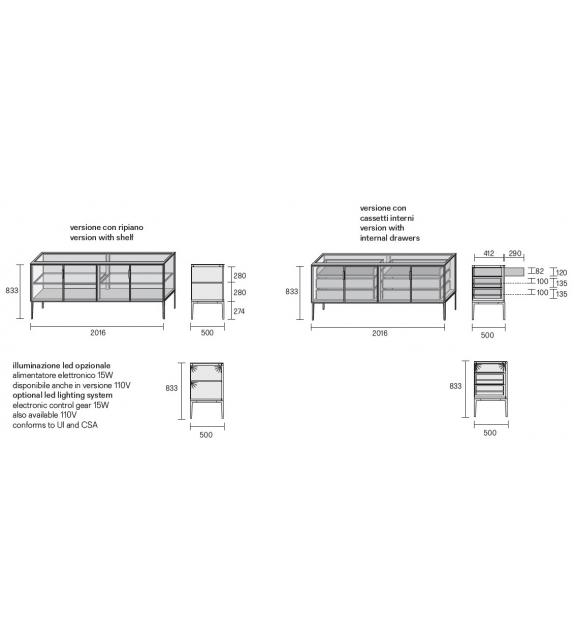 Alambra Rimadesio Case Sideboard