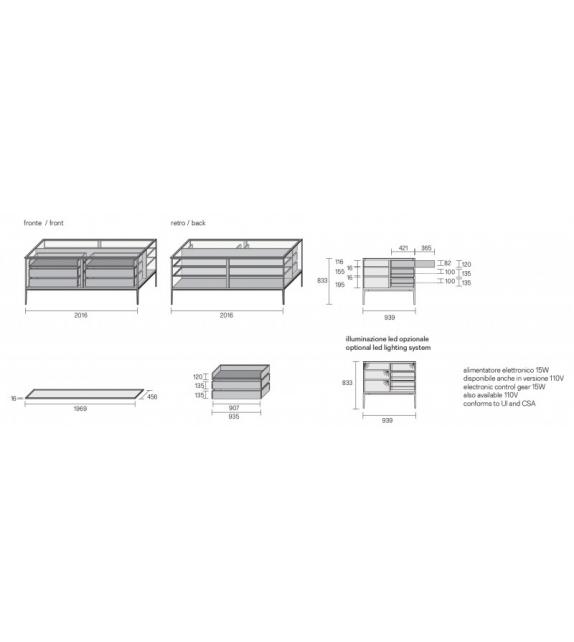 Rimadesio Alambra Sideboard