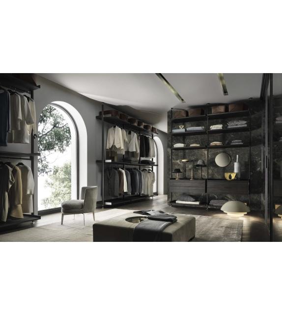 Zenit Rimadesio Begehbarer Kleiderschrank
