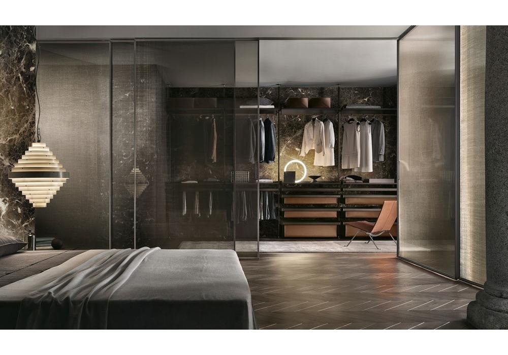 zenit rimadesio begehbarer kleiderschrank milia shop. Black Bedroom Furniture Sets. Home Design Ideas
