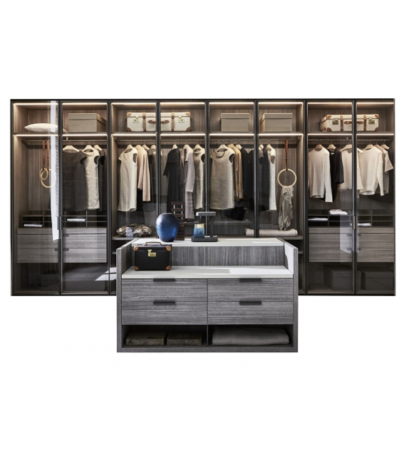 Gliss Master Molteni & C Modular Walk-In Closet