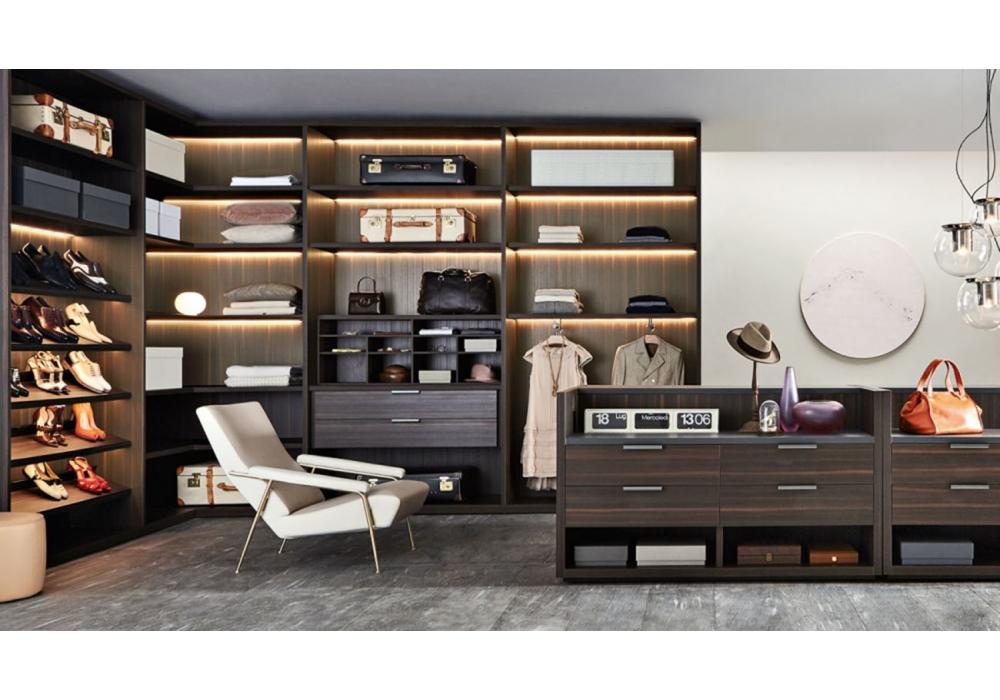 gliss master molteni c begehbarer kleiderschrank milia shop. Black Bedroom Furniture Sets. Home Design Ideas
