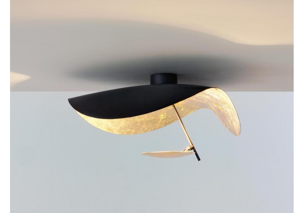 Lederam manta cws catellani smith lampada da soffitto parete