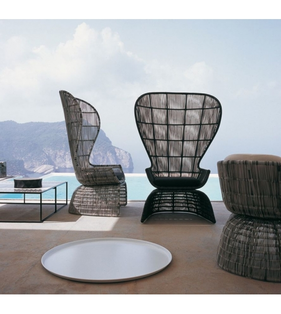 Crinoline armchair