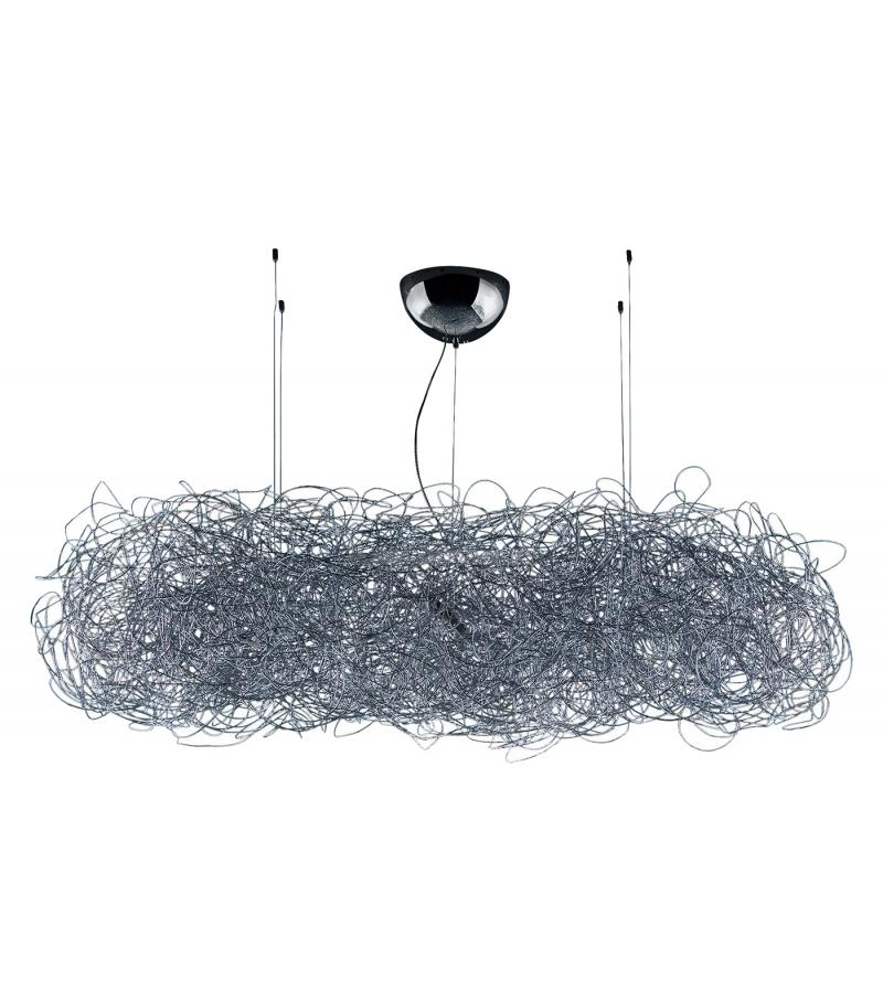 fil de fer nuvola catellani smith suspension lamp milia shop. Black Bedroom Furniture Sets. Home Design Ideas