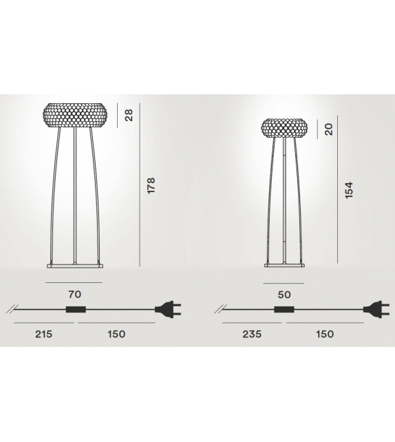 Foscarini: Caboche Floor Lamp