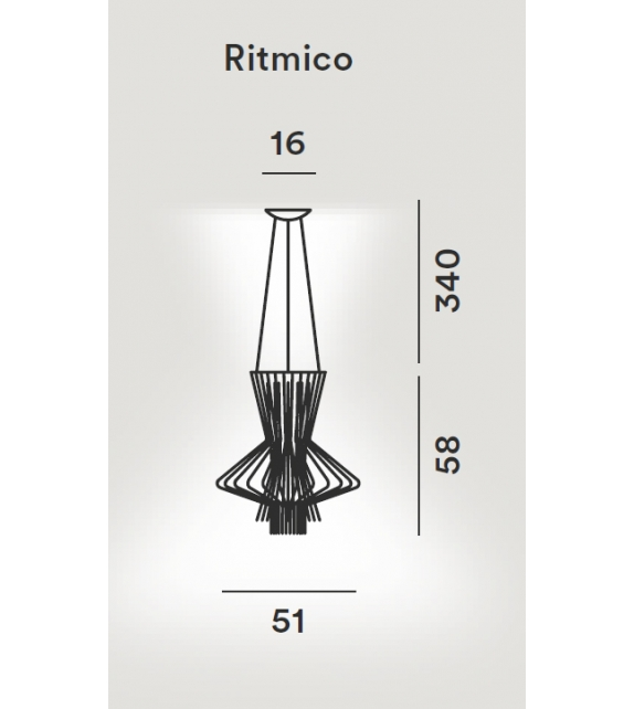 Foscarini: Allegretto Ritmico Suspension Lamp