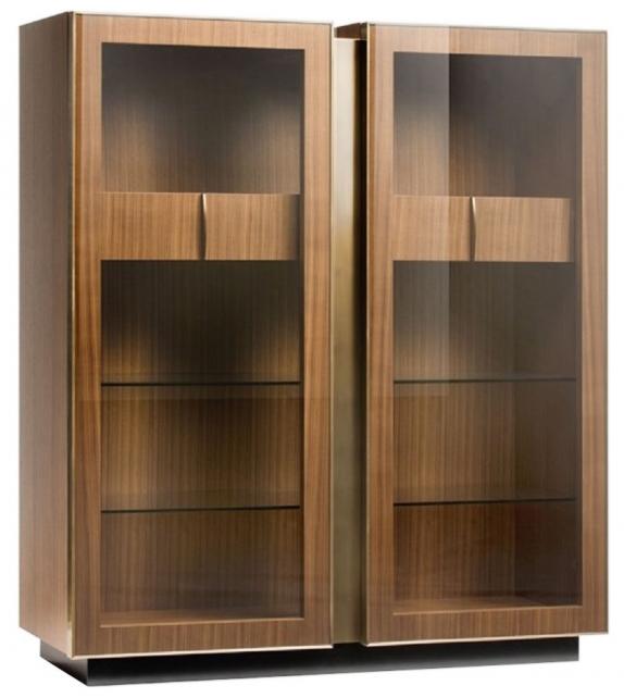 Victor Opera Contemporary Glass Cabinet