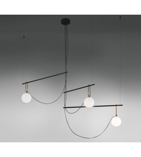 NH S3 14 Artemide Suspension Lamp