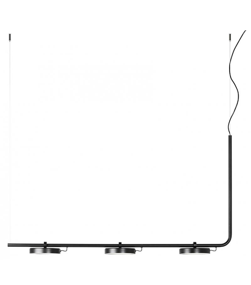 Aro Estiluz Suspension Lamp in Rail