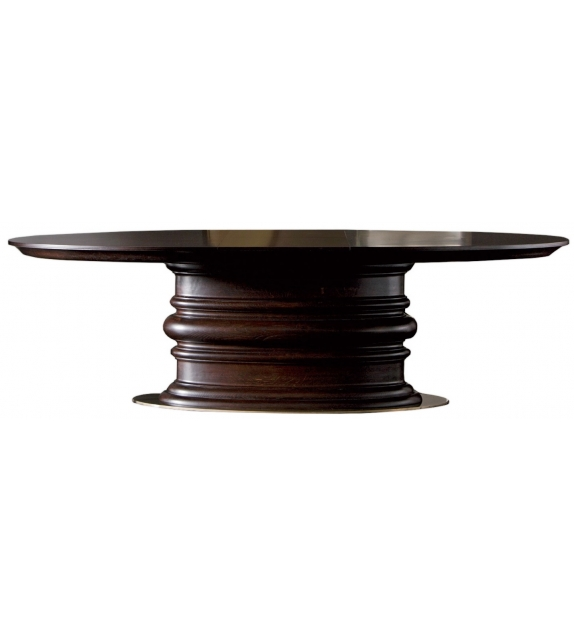 Edgar Opera Contemporary Oval Table