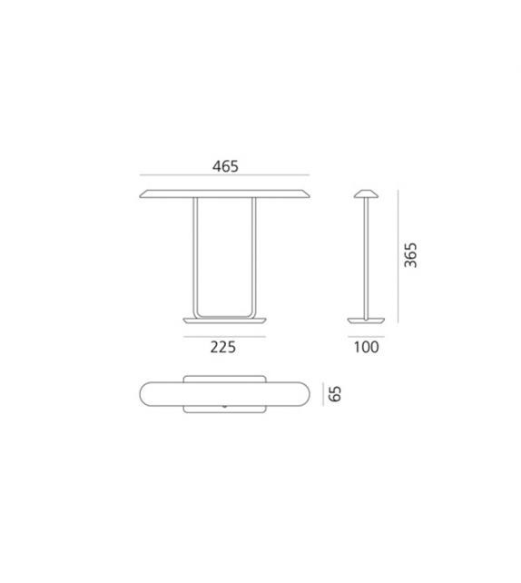 Tempio Artemide Table Lamp