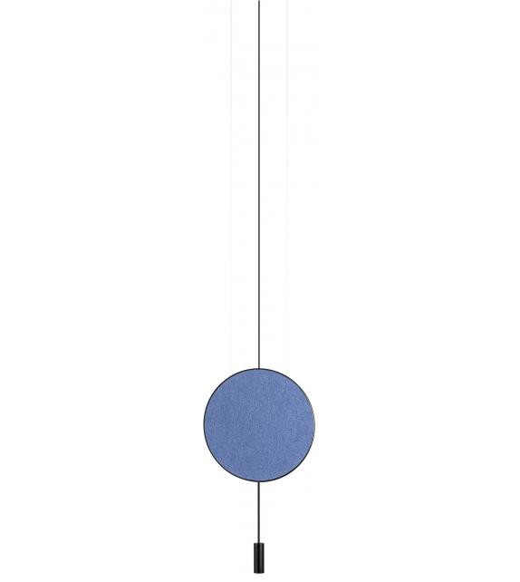 Revolta Estiluz Pendant Lamp with Acoustic Panel