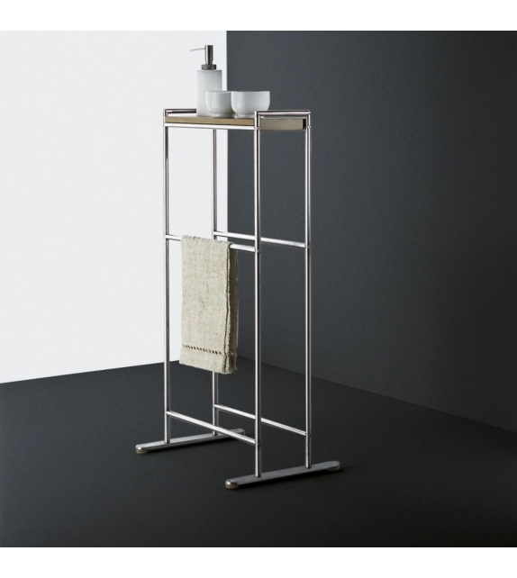 Minimal Boffi Free-standing Towel Holder