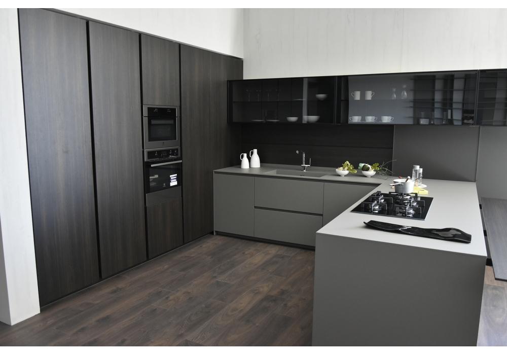 in ausstellung light mh6 modulnova k che milia shop. Black Bedroom Furniture Sets. Home Design Ideas