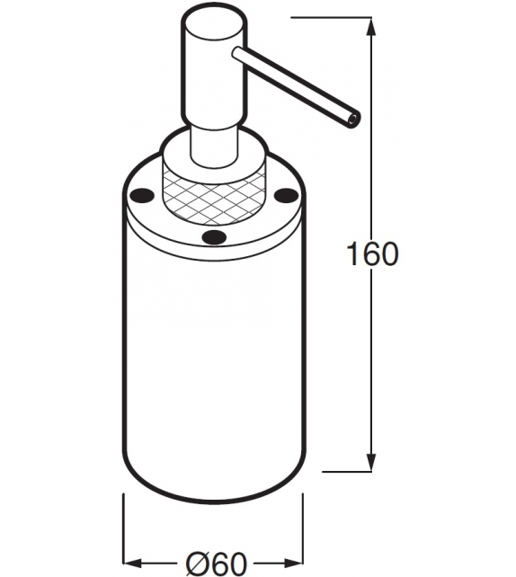 Minimal Boffi Dispenser Sapone