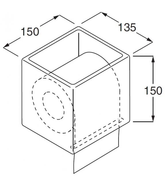 RL11 Boffi Toilet Roll Holder