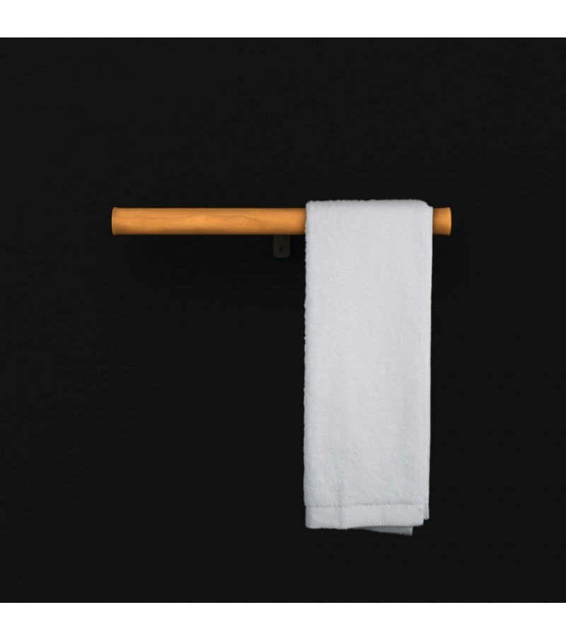Boffi Twig Toilet Roll Holder with Towel Holder
