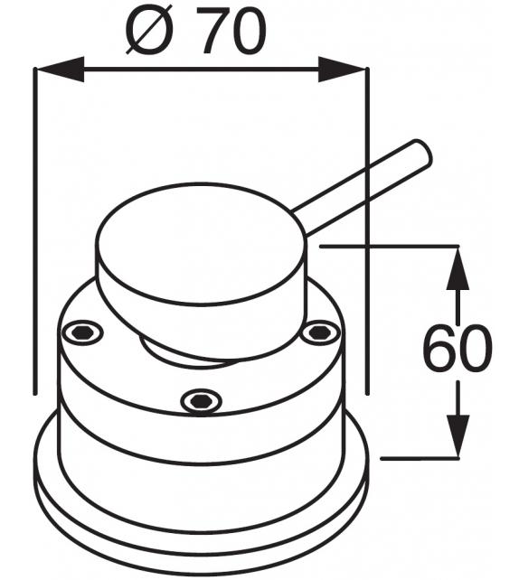Minimal Boffi Mixer Tap for Washbasin